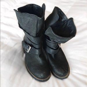 Steve Madden Moto boots